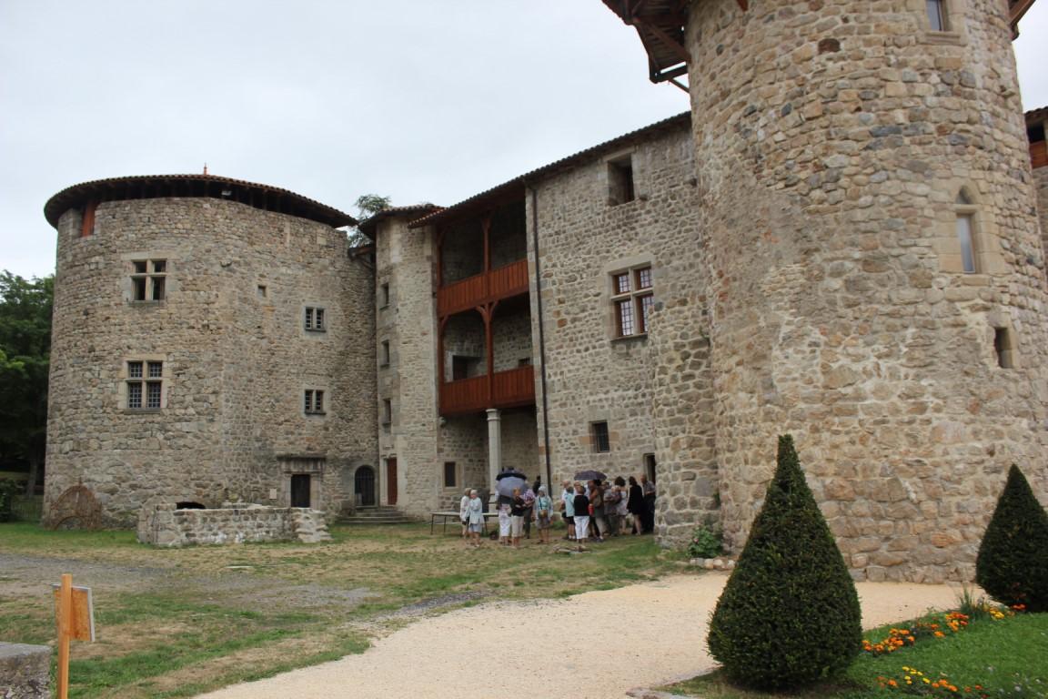 Sortie St Michel d'Aurance et visite du château de la Chèze (Le Cheylard) 2015
