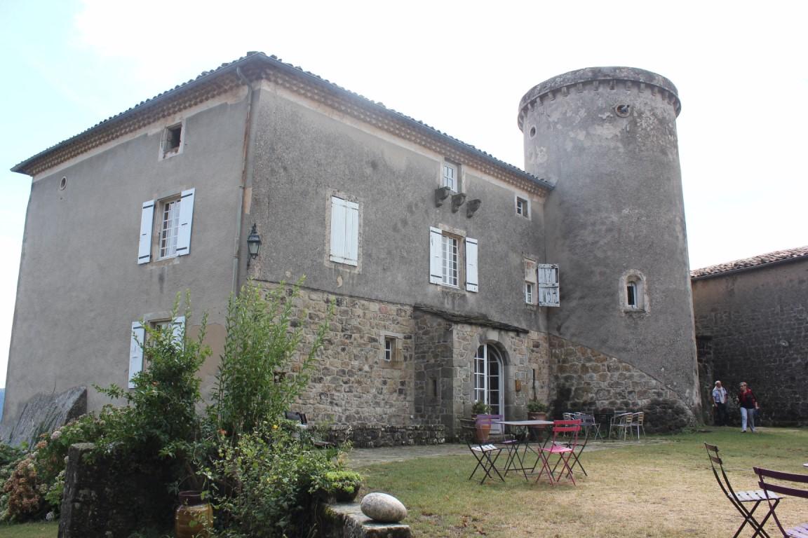 Sortie château de Liviers 2016